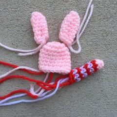 A mini crochet pig A (crochetbug13) Tags: crochet crocheted crocheting amigurumi crochetpig minicrochetpig crochettoy