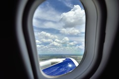 I Had a Front Row View of Clouds Stretching Off To a Distant Horizon (thor_mark ) Tags: airplaneengine airplanewindow airplanewindowview alaska2019 azimuth152 blueskieswithclouds capturenx2edited clouds colorefexpro day1 delta flightaustoslc flyingoutofaus flyingoutofaustin flyingovertexas jetairplane lookingoutsideplanewindow lookingsse lookingoutairplanewindow lookingouttheairplanewindow lookingtoairplanewindow lookingtoplanewindow lookingtotheairplanewindow miscellaneous nikond800e outside planeengine planewindow portal portallikeview portalview project365 sunny travel austin tx unitedstates