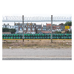 Pipes (John Pettigrew) Tags: lines tamron d750 nikon decay industrial fences barriers documentary urban imanoot angles double topographics great green yarmouth yellow johnpettigrew pipes