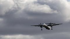 Aurora Airlines   De Havilland Canada Dash 8-400   RA-67262 (Zhuravlev Nikita) Tags: spotting elizovo kamchatka uhpp aurora flyaurora dhc8 de havilland canadair