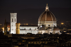 Florence Cathedral (Billy Wilson Photography) Tags: 2019 adventure biketour cycling europe florence firenza italy italia tuscany cathedral duomo church night skyline architecture historic unesco world heritage