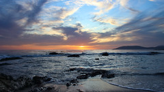 Shell Beach sunset (phl_with_a_camera1) Tags: shell beach california sunset