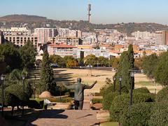 Nelson Mandela Statue at Union Buildings in Pretoria