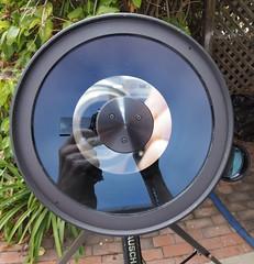 SA095427 SBAU Bosch & Lomb 8000 8 inch SCT lens corrector end crop (SBAUstars) Tags: october 7 2019 sbau bosch lomb criterion 8 inch sct forkmount telescope forsale santabarbara astronomy