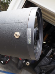 SA095426 SBAU Bosch & Lomb 8000 8 inch SCT serial #0003817 on lens corrector (SBAUstars) Tags: october 7 2019 sbau bosch lomb criterion 8 inch sct forkmount telescope forsale santabarbara astronomy