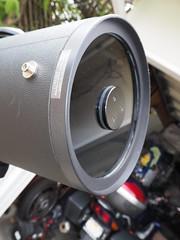 SA095425 SBAU Bosch & Lomb 8000 8 inch SCT serial #0003817 at lens corrector (SBAUstars) Tags: october 7 2019 sbau bosch lomb criterion 8 inch sct forkmount telescope forsale santabarbara astronomy