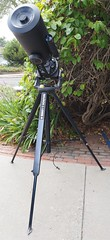 SA095422 SBAU Bosch & Lomb 8000 8 inch SCT fork mount on well designed tripod crop (SBAUstars) Tags: october 7 2019 sbau bosch lomb criterion 8 inch sct forkmount telescope forsale santabarbara astronomy
