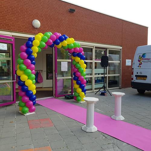 Ballonboog 6m Basisschool de Banier Zwartemeer
