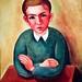 Son's Portrait (1944) - Sarah Affonso (1899-1983)