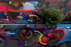 Retour à la nature (Edgard.V) Tags: paris parigi street art urban arte urbano callejero mural graffiti graff ourcq living colours 2019 villette canal canale channel