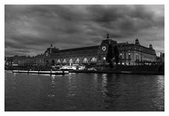 """""""Figures Libres à Paris 168"""" (TBWLC Photography) Tags: fdrouet tbwlc nb bw monochrome twilight crépuscule muséedorsay nikon d610 paris"""