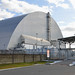 Safe confinement built over reactor 4, Chernobyl, Ukraine