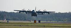DSC_0047 (Trev 'Big T' Hurley) Tags: usaf plane aeroplane fatalbert c130j turboprop herc hercules rafmildenhall mildenhall usairforce unitedstatesairforce