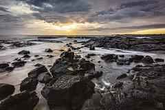 Wawaloli Sunset 3 (lycheng99) Tags: wawaloli wawalolibeach beach sunset clouds tidepool waves ocean hawaii bigisland landscape nature travel explore lava lavarocks volcanicrocks