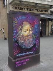 C215 : Sully (août 2019) (Archi & Philou) Tags: c215 pochoir stencil legrandsiècledumarais paris04 boîteàfeux sully ministre streetart