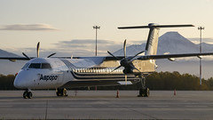 Aurora Airlines   De Havilland Canada Dash 8-400   RA-67256 (Zhuravlev Nikita) Tags: spotting elizovo kamchatka uhpp aurora flyaurora dhc8 de havilland canadair