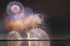 2019國慶煙火秀 (Hong Yu Wang) Tags: sony a73 a7m3 a7iii 1224g fireworks kaohsiung night 高雄 國慶 煙火 舊鐵橋 taiwan 台灣 臺灣