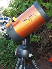 SA065391 Celestron Nexstar 8i SE w TomT finder added crop (SBAUstars) Tags: october 6 2019 sbau celestron nexstar 8i se specialedition astronomy telescope sct forsale tripod santabarbara