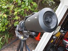SA095418 SBAU Bosch & Lomb 8000 8 inch SCT fork mount push on lens corrector cover nice (SBAUstars) Tags: october 7 2019 sbau bosch lomb criterion 8 inch sct forkmount telescope forsale santabarbara astronomy