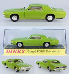 DIF-A-1419-Thunderbird (adrianz toyz) Tags: adrianztoyz dinky toys diecast toy model car france french 1419 ford thunderbird editions atlas reissue copy