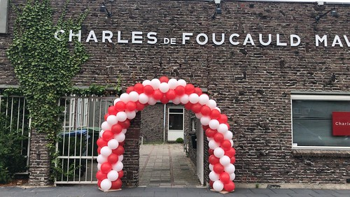 Ballonboog 6m Diplomering Charles de Foucauld Spijkenisse