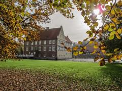 Herbstliche Burg Hülshoff im Münsetrland