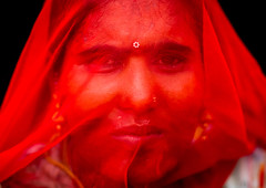 Portrait of a rajasthani woman hidding her face under a red sari, Rajasthan, Jaisalmer, India (Eric Lafforgue) Tags: adults asia asian colourimage costume culture day ethnic ethnicity hidding hindu hinduism horizontal india india192451 indian jaisalmer lookingatcamera oneadultonly oneperson onewomanonly outdoors portrait rajasthan saree sari shy traditionalclothing women