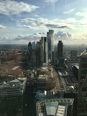 View From The 50th Floor (msganching) Tags: london city highrise cluster gherkin cheesegrater sky cityscape