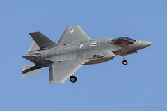 2019 03 13 14-5107@KLSV (Stefano Benedetto - coldwarkid photos) Tags: 145107 62ndfs spikes lf f35a usaf nellis redflag