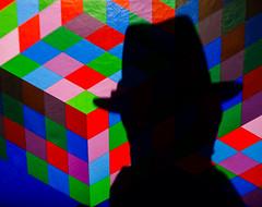 Vasarely&Beuys.jpg (Klaus Ressmann) Tags: klaus ressmann centrepompidou fparis france omdem1 vasarely vasarelyexhibition winter detail flicvarious silhouette workofart klausressmann