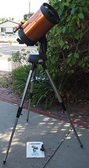 SA065397 Celestron Nexstar 8i SE w tripod and manual and red dot finder crop (SBAUstars) Tags: october 6 2019 sbau celestron nexstar 8i se specialedition astronomy telescope sct forsale tripod santabarbara