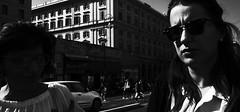 Dark side of the light. (Baz 120) Tags: candid candidstreet candidportrait city contrast street streetphoto streetcandid streetportrait strangers rome roma ricohgrii europe women monochrome monotone mono noiretblanc bw blackandwhite urban life portrait people provoke italy italia grittystreetphotography faces decisivemoment