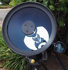 SA095424 SBAU Bosch & Lomb 8000 8 inch SCT very clean mirror and lens corrector crop (SBAUstars) Tags: october 7 2019 sbau bosch lomb criterion 8 inch sct forkmount telescope forsale santabarbara astronomy