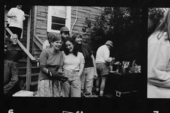 Andrew Taft's b-day party (Paul Comstock) Tags: andrewtaftsbdayparty 1995 chicago andytaft sarahtaft marytaftgarrison leavitt elizabethkozlowski may spring birthday birthdayparty f1 canon 35mm monochrome bw pauldaviscomstock may1995