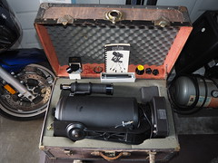 SA095408 SBAU Bosch & Lomb 8000 8 inch SCT fork mount very good condition in old trunk case (SBAUstars) Tags: october 7 2019 sbau bosch lomb criterion 8 inch sct forkmount telescope forsale santabarbara astronomy