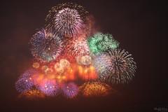 國慶吃煙秀 (Hong Yu Wang) Tags: sony a73 a7m3 a7iii 1224g fireworks kaohsiung night 高雄 國慶 煙火 舊鐵橋 taiwan 台灣 臺灣