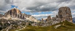 Dolomiten / Dolomiti / Dolomites (CBrug) Tags: cinquetorri tofanadirozes italy italien italia mountains maountain berg berge herbst autumn fall wolken clouds