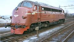 NSB Di 3 613 (Stig Baumeyer) Tags: diesellocomotive diesel diesellokomotiv diesellok diesellokomotive di3 nsb norgesstatsbaner nsbdi3 nohab nohabgm nydqvistholm generalmotors gm gm16567 trondheim trollhättan emd electromotive skansen marienborg