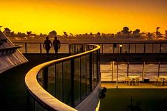 Staying Healthy (Tony Shertila) Tags: nikon5300 atlantic clouds cruise deck horizon morning ocean outdoor ship sky sunrise tourist weather worldcruise 201901150638160