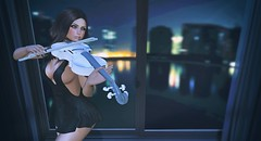 Play the violin (Erica Saint-Pierre) Tags: secondlife esode jessposes youbygemyles
