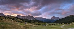 *The sky over the Val Gardena* (Albert Wirtz @ Landscape and Nature Photography) Tags: albertwirtz dolomiten dolomiti dolomites italy italia italien panorama panoramic bluehour goldenhour blauestunde goldenestunde sunrise sonnenaufgang mountains berge alpen alps alpenglow twilight clouds wolken landscape landschaft grödnertal valgardena südtirol altoadige trentino sella langkofel sassolungo plattkofel sanktchristinaingröden sanktulrich wolkenstein santachristinaingardena fermeda fermedahütte refugiofermeda seceda geislergruppe puezgruppe puez pitchberg wiese meadow nature natur natura paesaggi paysage paesaggio campo campagne campagna fineart fineartphotography landscapefineart landscapepanorama morgenstimmung morningmood nikon d810 wolkensteiningröden colraiser santachristinavalgardena southtyrol longexposure langzeitbelichtung mastlé aschgleralm