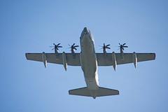 DSC_0098 (Trev 'Big T' Hurley) Tags: usaf plane aeroplane fatalbert c130j turboprop herc hercules rafmildenhall mildenhall usairforce unitedstatesairforce