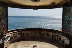 Outao (hans pohl) Tags: windows portugal water landscapes eau setubal fenêtres abandonné atlantique océan payages abandoned tags graphities