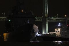 JS Hatakaze & Kashima Maru (niokee) Tags: japanmaritimeselfdefenseforce jmsdf hatakazeclassguidedmissiledestroyer guidedmissiledestroyer destroyer jshatakaze ddg171 yokohamaport tokyokisencoltd 9561526 431000987 tug kashimamaru fleetweek fleetweek2019