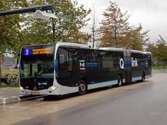 NLD Qbuzz 3424 - 3 ● Leek Oostindie (Roderik-D) Tags: leekoostindie qbuzz34203447 3424 articulatedbus qlink4 qlinkblauw qlinkblue 83bdl4 2013 424253 dieselbus euro6 mercedesbenz citaro3 o530g capacity441001 isri geledebus gelenkbus qlink ticketmachine lightsensor 3axle 3doors qlink3