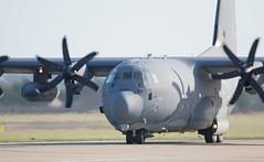 DSC_0134 (Trev 'Big T' Hurley) Tags: usaf plane aeroplane fatalbert c130j turboprop herc hercules rafmildenhall mildenhall usairforce unitedstatesairforce