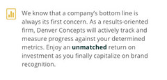 Denver Concepts (Denver, Colorado) (DenverConcepts) Tags: success metrics statistics denver sales revenue