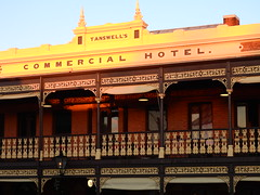 It took longer than I thought (Couldn't Call It Unexpected) Tags: beechworth pub hotel sunset commercial
