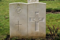H.J. Field, Royal Air Force, & J. Quinn, Loyal North Lancashire Regiment, War Grave, 1919, St. Albans (PaulHP) Tags: cwgc war grave headstone st albans hatfield road cemetery herts hertfordshire world service number ww1 great air mechanic 2nd class henry james field 22049 15 january 1919 raf royal force selina florence edith 39 west view private j quinn 19669 16 february lnlr loyal north lancs lancashire regt regiment john mary 43 nelson street annesonthesea irish ireland castle bar co roscommon