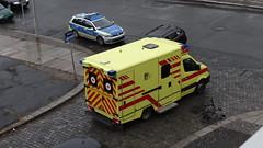Unfall-00354 (pischty.hufnagel) Tags: dresden johannstadt unfall fahrrad krankenwagen polizei bmw